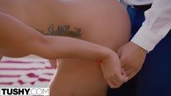 TUSHY Kelsi Monroe passionate anal sex