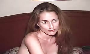 humungous penis feeds female a cum shot in lodge apartment