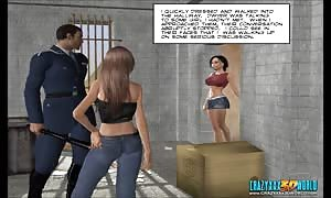 3D Comic: Freehope. scene