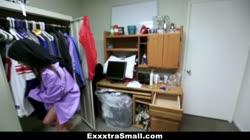 ExxxtraSmall - Horny Teen Girl Plowed with Athlete Cock