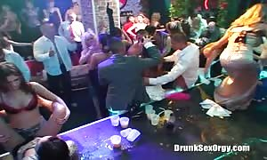 Lusty fucked up streetwalker is getting your hands on penetrated in the club as she like
