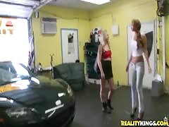 Babes with ideal bodies are getting drilled in their small holes