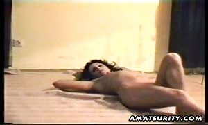 A brown-haired old noob housewife homemade sixty nine