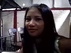 Tanned Filipino is enjoying cock-sucking so freaking much!