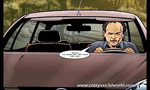 2D Comic: Spellbinder. scene two