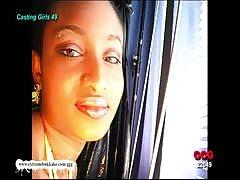 Ebony Babe Audry Cum target - Extreme Bukkake
