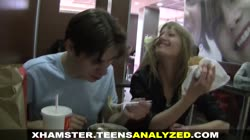 Teens Analyzed - First one to give her anal