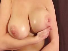 Curvy Wife Flashing Huge Boobs