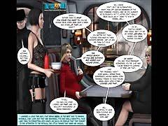 3D Comic: Deliverance. Episodes 3