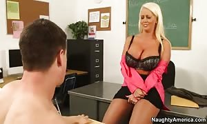 Alura Jenson & Bruce Venture in My first Sex professor