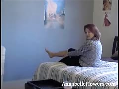 Busty milf Annabelle Flowers is having awesome soles