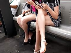 Bare Candid Legs - BCL#230