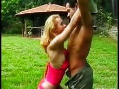 Sexy Brazilian Tranny Getting Fucked