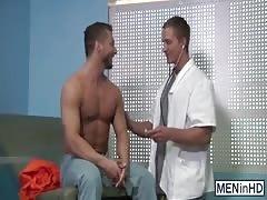 Rod Pederson stuffs Dr Landon Mycles full of his cock
