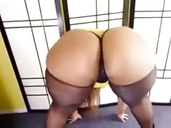 thick black dominican dancer